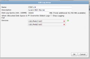 log-array