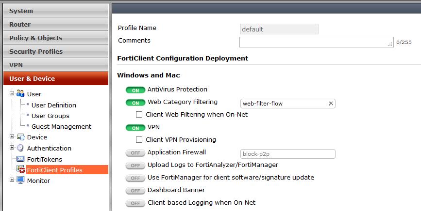 FortiClient_Default_Configuration
